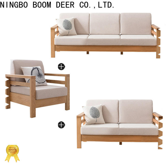 Small Corner Sofa Simple Wooden, Small Wooden Sofa Set Designs