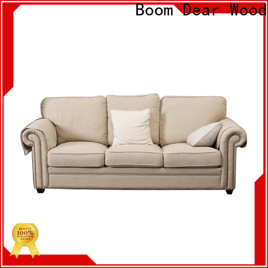 BoomDear Wood wooden sofa designs for living room at discount for building