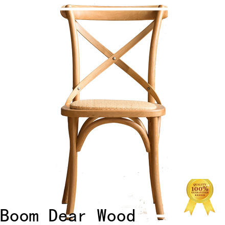 BoomDear Wood quality modern dining chairs factory price for restaurant