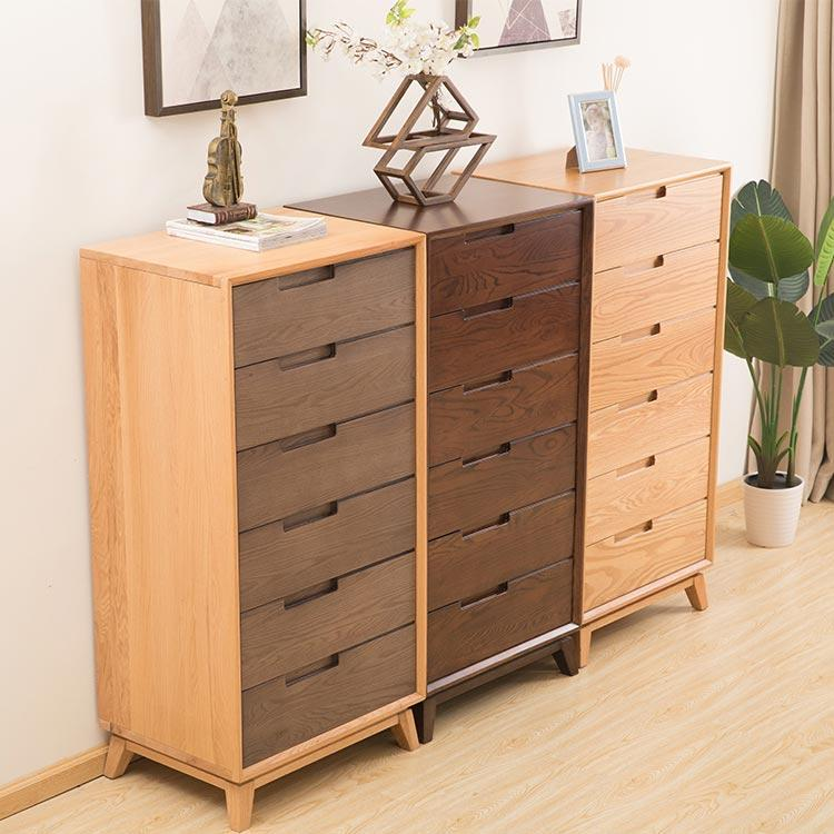 Antique mini chest of drawers solid boomdeer wood cabinet corner BD89170009
