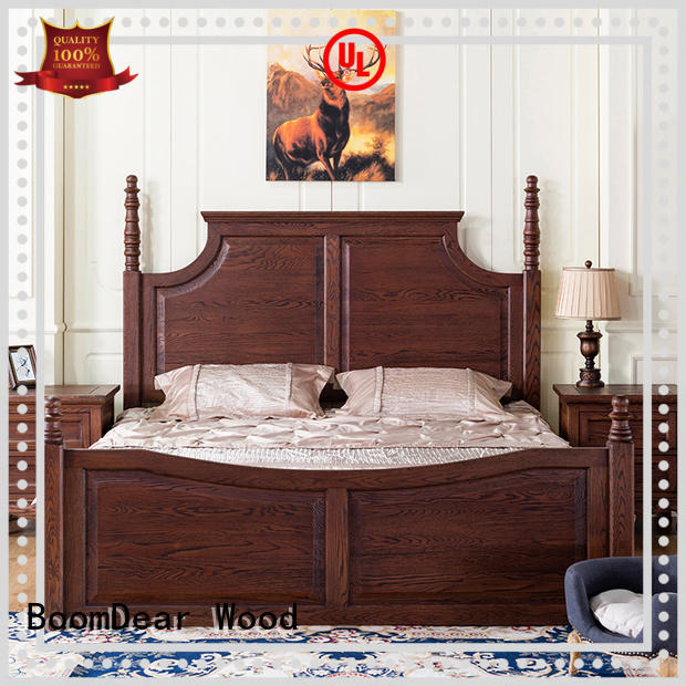 wooden bedroom furniture bulk production for building BoomDear Wood