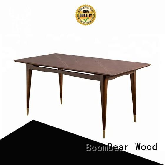 BoomDear Wood corner living room furniture sets bulk production for restaurant
